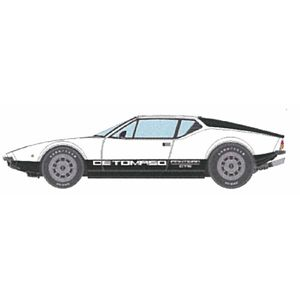 1/43 デ・トマソ・パンテーラ GTS 1973 ホワイト&ブラック【VM063E】 メイクアップ