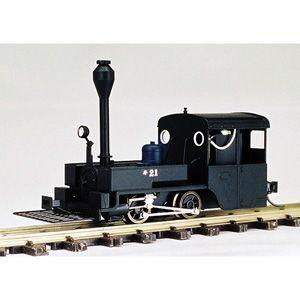 [鉄道模型]ワールド工芸 【再生産】(HOナロー) 大日本軌道 キ21「へっつい」 蒸気機関車 組立キット リニューアル品
