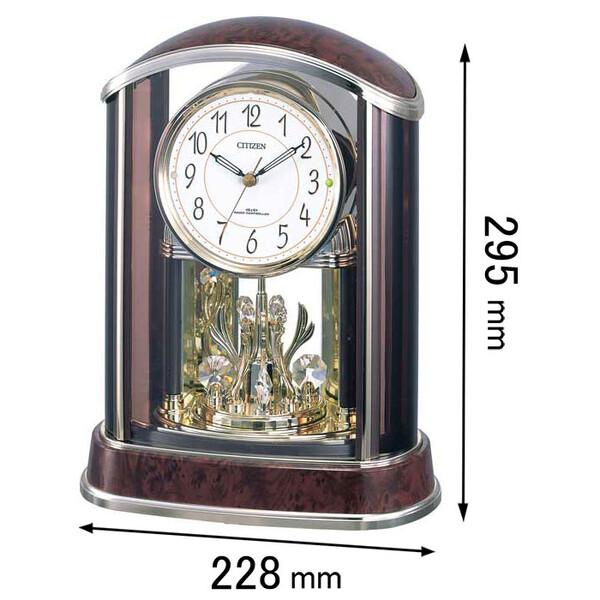 4RY658-N23 シチズン 置き時計 パルアモールR658N [4RY658N23]【返品種別A】