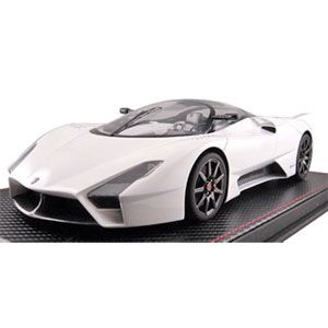 1/18 Shelby Supercars (SSC) tuatara(ホワイト)【F031-02】 FRONTIART