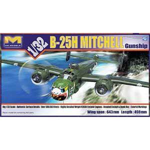 1/32 B-25H ガンシップ【HKM01E03】 HK Model
