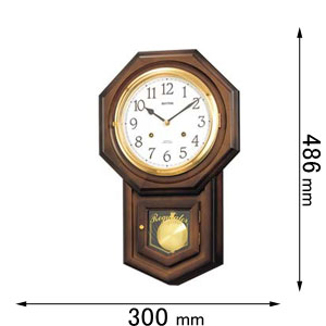 4MJ770RH06 リズム時計 掛け時計 振り子時計 [フイオリタR]【返品種別A】