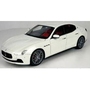 1/18 Maserati Ghibli 2013(ホワイト)【TOP08W】 TOPMARQUES