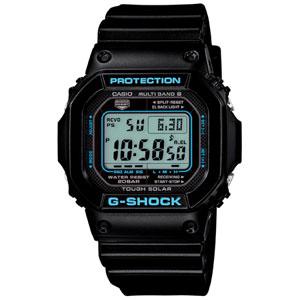 GW-M5610BA-1JF カシオ 【国内正規品】G-SHOCK(ジーショック) BLACK× BLUE Series Gショック ソーラー電波時計 メンズタイプ [GWM5610BA1JF]【返品種別A】