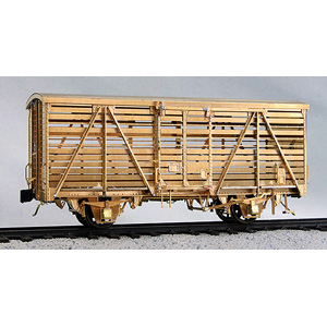 生まれのブランドで [鉄道模型]ワールド工芸 (12mmゲージ) カ3000形 国鉄 カ3000形 (12mmゲージ) 家畜車 国鉄 塗装済完成品【特別企画品】, ヴィヴォスタイル:51e6153d --- canoncity.azurewebsites.net