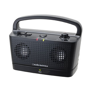AT-SP767TV BK オーディオテクニカ ワイヤレスステレオスピーカーシステム(ブラック)送信機&受信機セット audio-technica SOUND ASSIST