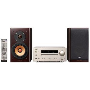 EX-HR7 JVC iPod/iPhone対応 USB端子搭載コンパクトコンポーネントシステム WOOD CONE