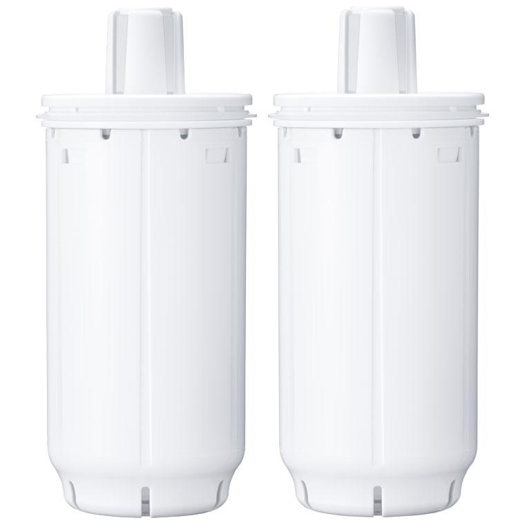 PTC.SV2J 東レ 高級 浄水器用交換カートリッジポット型高除去タイプ 2個入 PTCSV2J TORAY 入手困難