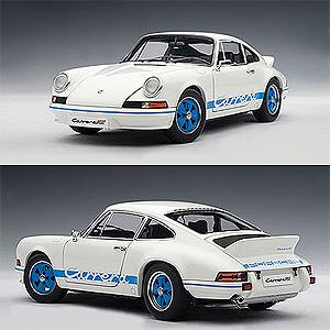 1/18 ポルシェ 911 カレラ RS 2.7 1973 ホワイト/ブルー【78052】 オートアート