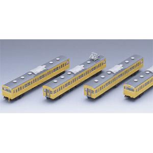 [鉄道模型]トミックス (Nゲージ) 92544 国鉄 103系通勤電車(高運転台非ATC車・カナリア)基本4両セット