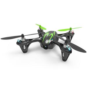 【再生産】2.4GHz 4ch マイクロクアッドコプター X4 HD(ブラックグリーン)【H107C-2】 G-FORCE