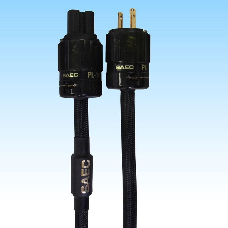 PL-7000-1.5 サエク 電源ケーブル(1.5m) SAEC