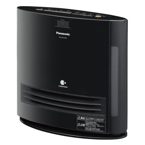 DS-FKX1205-K パナソニック 加湿機能付きひとセンサー搭載セラミックファンヒーター(ブラック) 【暖房器具】Panasonic nanoe(ナノイー)搭載