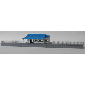 [鉄道模型]コスミック (HO) HS-89K HO 木造駅舎F組立キット