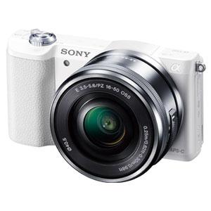 ILCE-5100L-W ソニー デジタル一眼カメラ「α5100」パワーズームレンズキット(ホワイト)