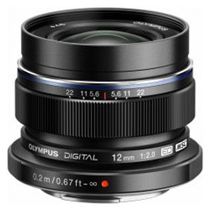 ED 12MM F2.0 ブラツク オリンパス M.ZUIKO DIGITAL ED 12mm F2.0(ブラック) ※マイクロフォーサーズ用レンズ