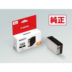 メーカー在庫限り品 PGI-1300XLBK キヤノン 純正インクタンク 迅速な対応で商品をお届け致します 大容量 ブラック