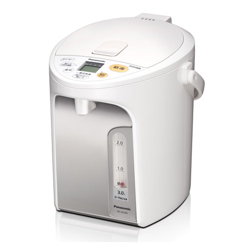 NC-HU304-W パナソニック マイコンジャー沸騰ポット 3.0L ホワイト Panasonic NC-HU4シリーズ [NCHU304W]