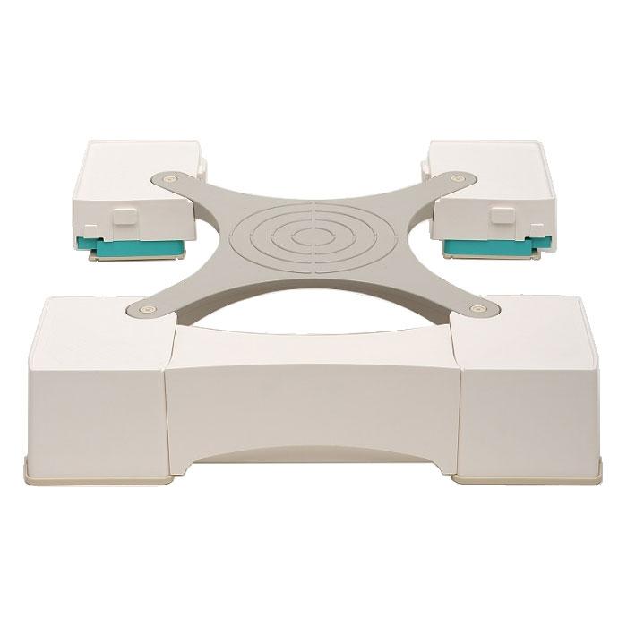 MM6-WG701 新生産業 64cm角防水パン専用洗濯機かさ上げ台(ホワイト) マルチメゾン [MM6WG701]【返品種別A】