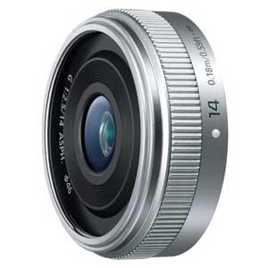H-H014A-S パナソニック LUMIX G 14mm / F2.5 II ASPH.(シルバー) ※マイクロフォーサーズ用レンズ