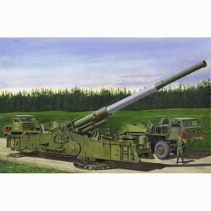 【再生産】1/72 アメリカ陸軍 M65 アトミック・キャノン 280mm カノン砲【BL7484】 ブラックラベル
