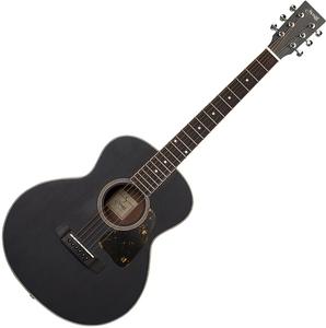 YM-03/BLK S.Yairi(ヤイリ) ミニアコースティックギター(ブラック) Compact-Acoustic シリーズ