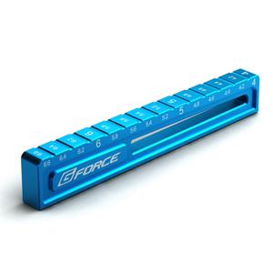 Droop Gauge 4.0 to 公式ストア G-FORCE 大注目 6.6mm Blue G0116