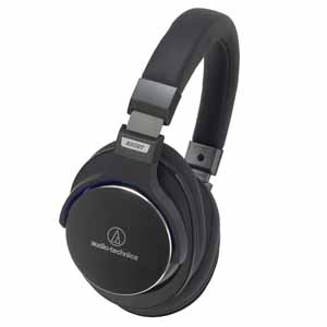 ATH-MSR7 BK オーディオテクニカ ハイレゾ対応ヘッドホン(ブラック) audio-technica ポータブルヘッドホン