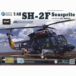 1/48 カマン SH-2F シースプライト・対潜ヘリコプター【KHMKH80122】 キティホークモデル