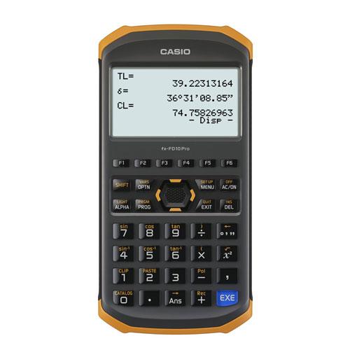 FX-FD10PRO カシオ 土木測量専業電卓 fx-FD10 Pro