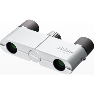 4X10DWH ニコン 双眼鏡「遊 4X10D CF」(倍率4倍)(ホワイト)