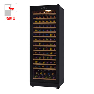 (標準設置料込)SAF-280G-BB さくら製作所 ワインセラー (89本収納)【右開き】ビューティブラック ファニエル FURNIEL PREMIUM CLASS [SAF280GBB]【返品種別A】