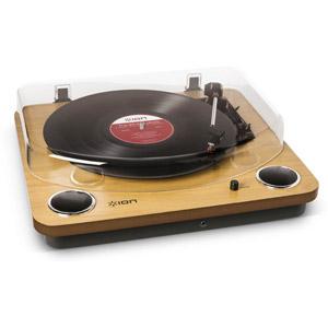 MAX LP(IA-TTS-013) アイオン USB端子・スピーカー搭載アナログプレーヤー【受注発注品】 ION Audio
