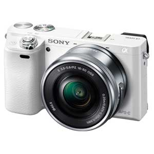 ILCE-6000L-W ソニー デジタル一眼カメラ「α6000」パワーズームレンズキット(ホワイト)