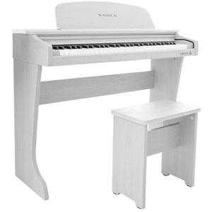 61 KID-O2 / WH サミック 61鍵ミニ電子ピアノ(ホワイト) SAMICK 61 KID-O2 Mini Digital Piano
