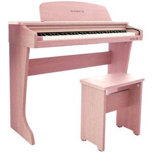 61 KID-O2 / PK サミック 61鍵ミニ電子ピアノ(ピンク) SAMICK 61 KID-O2 Mini Digital Piano