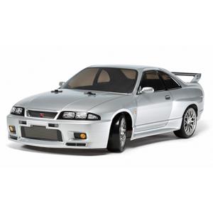 1/10 電動RCカー組立キット NISSAN スカイライン GT-R R33(TT-02Dシャーシ)ドリフトスペック【58604】 タミヤ