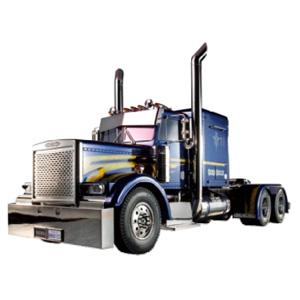 1/14 電動RCカー組立キット ビックトラック トレーラーヘッド グランドハウラー フルオペレーションセット【56343】 タミヤ