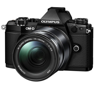 E-M5 MK2 14150K(BLK) オリンパス ミラーレス一眼カメラ「OM-D E-M5 MarkII」14-150mmII レンズキット(ブラック)