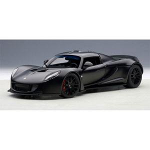 1/18 ヘネシー ヴェノム GT スパイダー(マットカーボン・ブラック)【75401】 オートアート