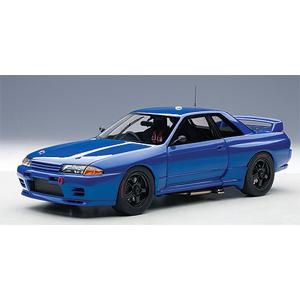 1/18 日産 スカイライン(R32)GT-R ATCC バサースト プレーンボディ(ベイサイドブルー)【89281】 オートアート