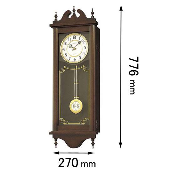 RQ-309-A セイコークロック 振り子付き掛け時計 [RQ309A]【返品種別A】