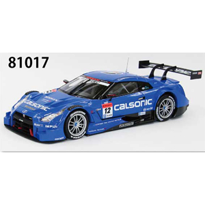 1/18 CALSONIC IMPUL GT-R SUPER GT500 2014 Rd.2 Fuji No.12(BLUE)【81017】 EBBRO