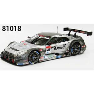 1/18 S Road MOLA GT-R SUPER GT500 2014 Rd.2 Fuji No.46(SILVER)【81018】 EBBRO