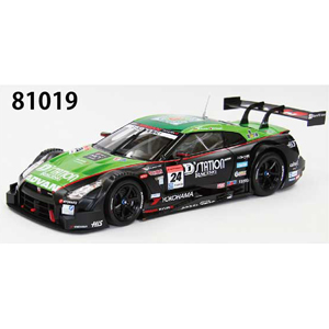 1/18 D'station ADVAN GT-R SUPER GT500 2014 Rd.2 Fuji No.24(GREEN/BLACK)【81019】 EBBRO