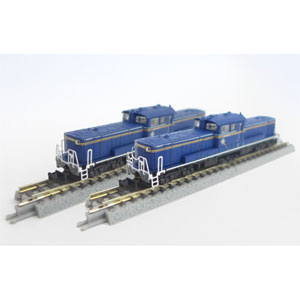 [鉄道模型]六半 【再生産】(Z) T002-8 DD51 1000 A寒地形 北斗星重連セット