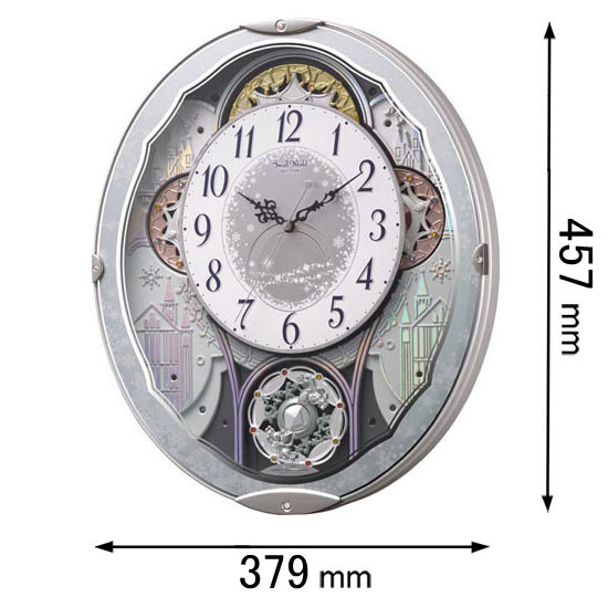 4MN537RH04 リズム時計 からくり時計 スモールワールド ビスト04 [スモルワルドビスト04]【返品種別A】