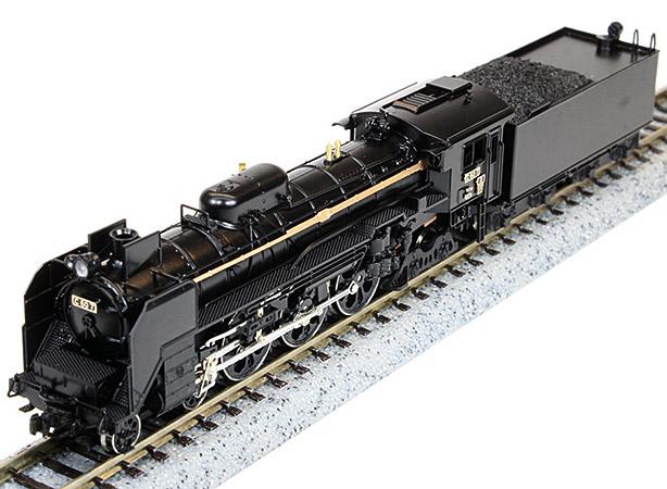[鉄道模型]ワールド工芸 (N) 国鉄C60形 蒸気機関車 東北型 川崎 Aタイプ 組立キット リニューアル品