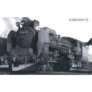 [鉄道模型]ワールド工芸 (N) 国鉄C60形 蒸気機関車 II 東北型 川崎 Bタイプ 組立キット リニューアル品