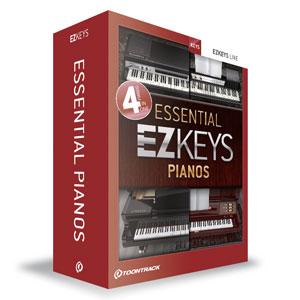 EZ KEYS - ESSENTIAL PIANOS クリプトン・フューチャー・メディア
